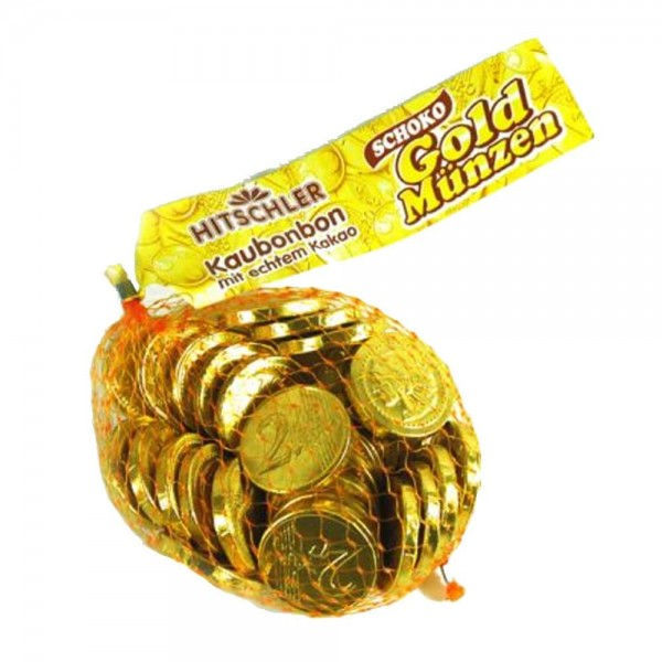 Hitschler Gold Coins Chocolate 130g 530496-V001 by Hitschler