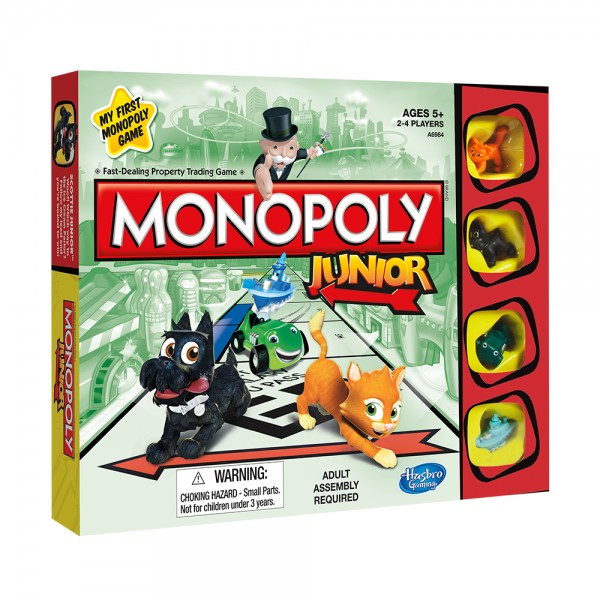 Hasbro Monopoly Junior Board Game 530630-V001 by Hasbro