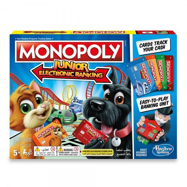 Hasbro Monopoly Junior Electronic Banking 530632-V001 by Hasbro