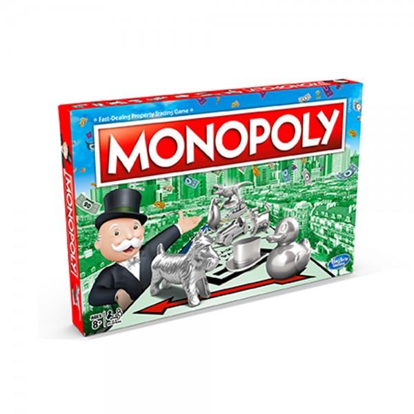 Hasbro Monopoly Classic Game, English 530635-V001 by Hasbro