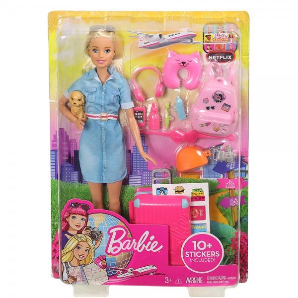 Barbie Travel Doll 530732-V001 by Barbie