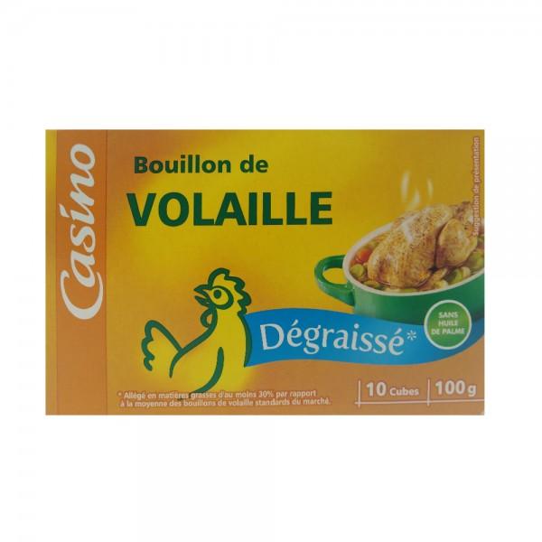 BOUILLON CUBE VOLAILLE DEGRAISSE 530921-V001 by Casino
