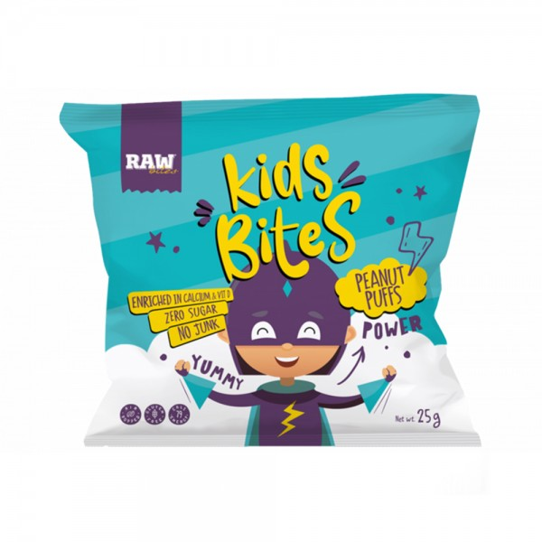 KIDS PEANUTS PUFFS CHIPS 531161-V001 by Raw Bites