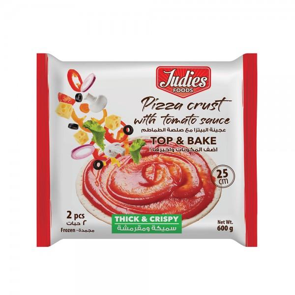 Judies Pizza Crust Thick 25Cm 2Pc 531787-V001 by Judies Foods