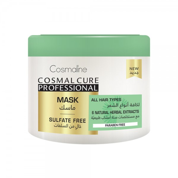 Cosml Cure Mask Sulfate Free - 450Ml 532184-V001 by Cosmaline