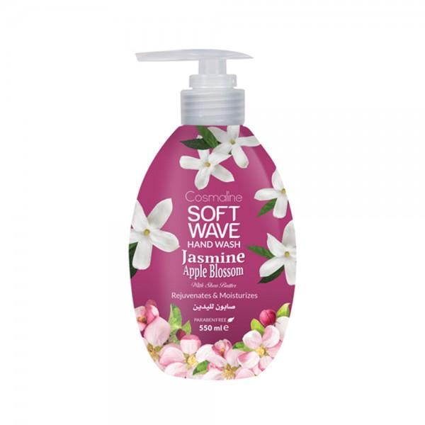 Soft Wave Hand Wash Jasmin Apple Blossom - 550Ml 532185-V001 by Cosmaline