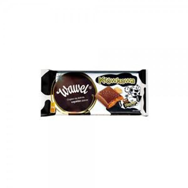 Wawel Cream Fudge Chocolate Bar 100g 532333-V001 by Wawel