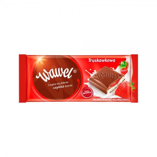 Wawel Strawberry Bar 100g 532334-V001 by Wawel