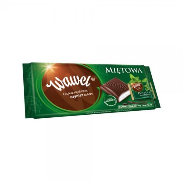 Wawel Mint Chocolate Bar 100g 532336-V001 by Wawel
