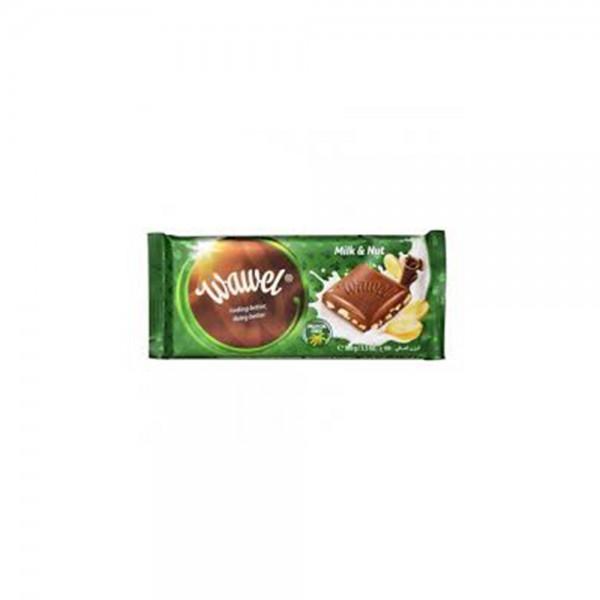 Wawel Milk & Nuts Chocolate Bar 100g 532338-V001 by Wawel