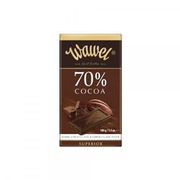 Wawel Dark Chocolate 70% Cocoa 100g 532340-V001 by Wawel