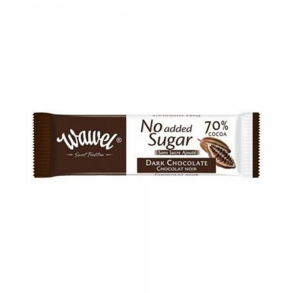 Wawel Dark Small Chocolate no added sugar 30g 532342-V001 by Wawel