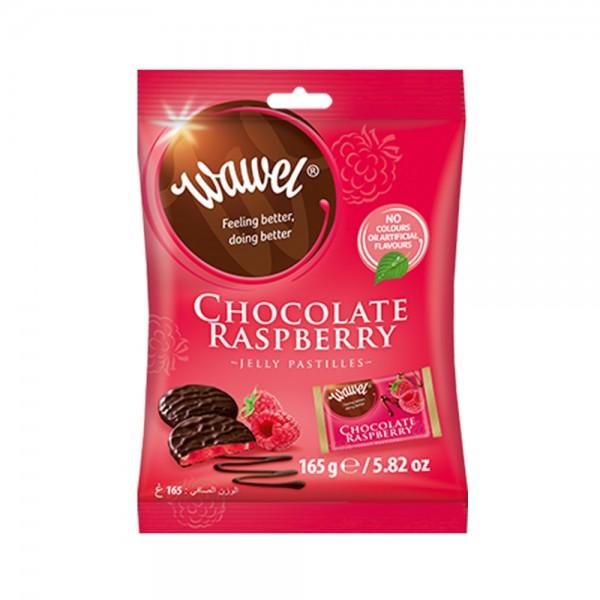 Wawel Chocolate Raspberry Jelly 165g 532344-V001 by Wawel