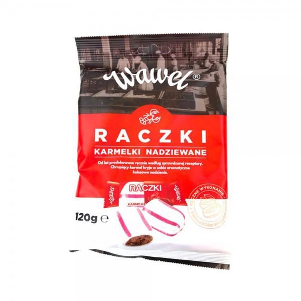 Wawel Raczki Candies Caramel Peanut & Rum Aroma 120g 532351-V001 by Wawel