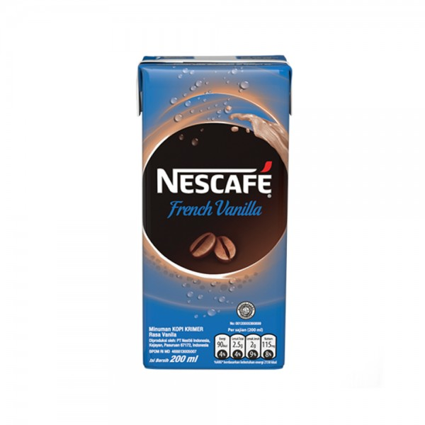 Nescafe French Vanilla Coffee UHT 532365-V001 by Nestle