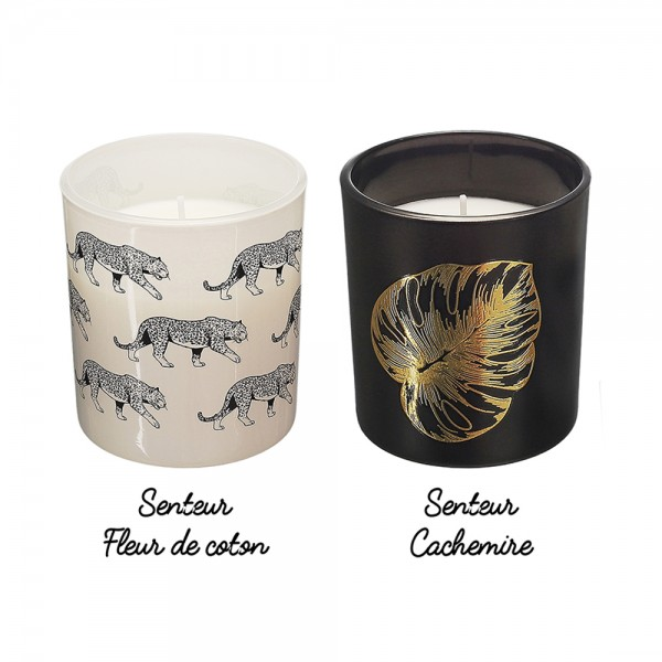 Hd Factory Natural Wild Candle Set - 2Pc 532516-V001 by Home Deco Factory