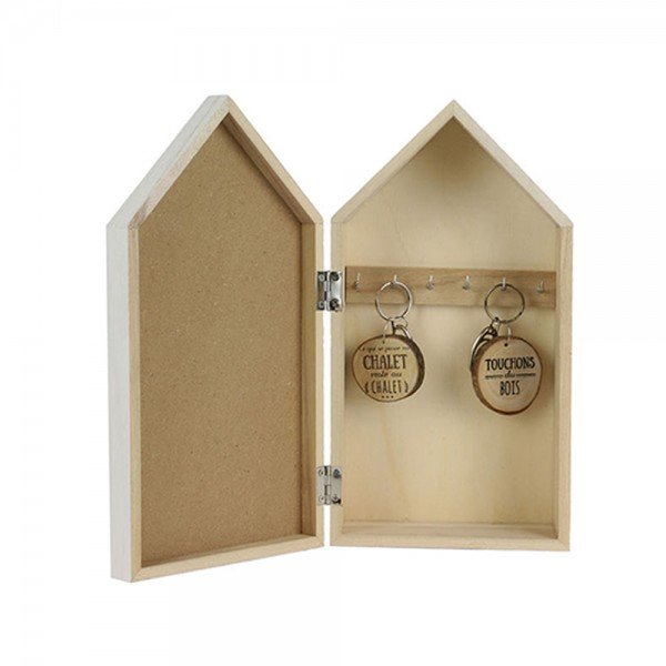 Hd Factory Chalet Key Hldr 14.8X8X27.4Cm - 1Pc 532517-V001 by Home Deco Factory