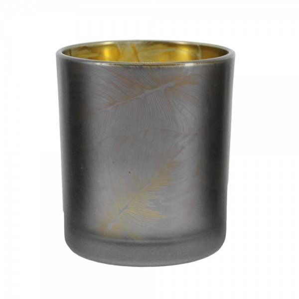 Hd Factory Jungle Green Candle Holder - 1Pc 532520-V001 by Home Deco Factory