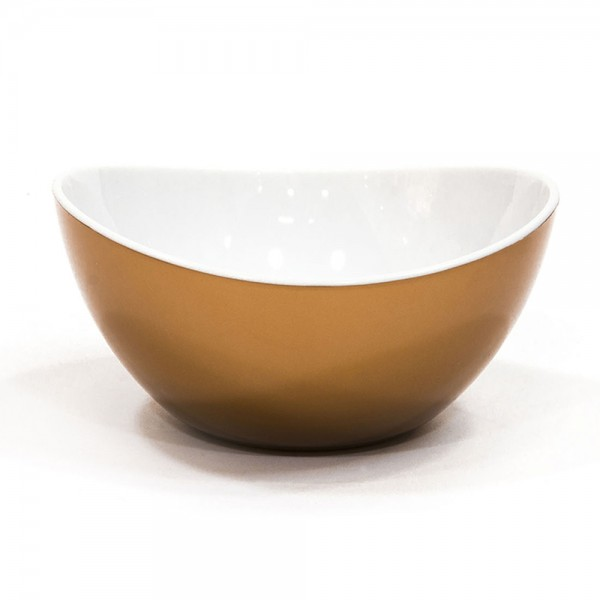 Hd Factory Gold Silver Copper Double Injection Bowl - 1Pc 532523-V001 by Home Deco Factory