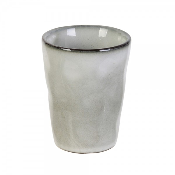 Hd Factory White Stoneware Espresso Cup 10Cl - 1Pc 532543-V001 by Home Deco Factory