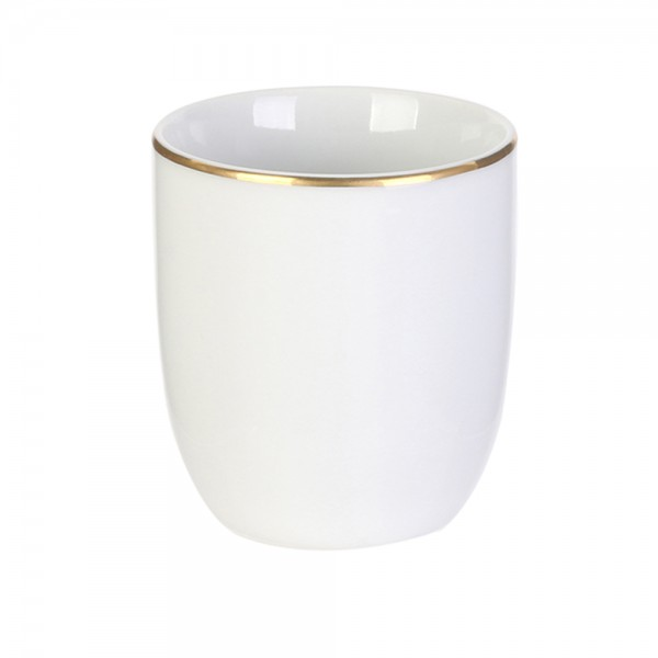 Hd Factory Gold Rim Cup 18Cl - 1Pc 532562-V001 by Home Deco Factory