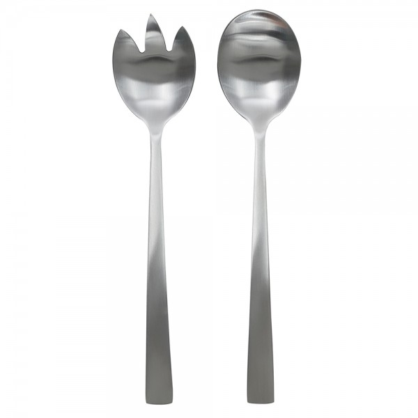 Hd Factory Stainless Steel Salad Servers - 2Pc 532574-V001 by Home Deco Factory