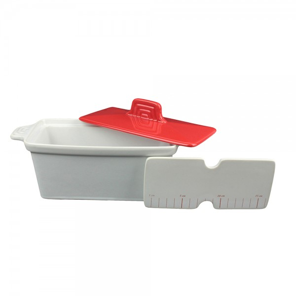 Cook C Terrine+Press For Making Foie Gras - 3Pc 532575-V001 by Cook C