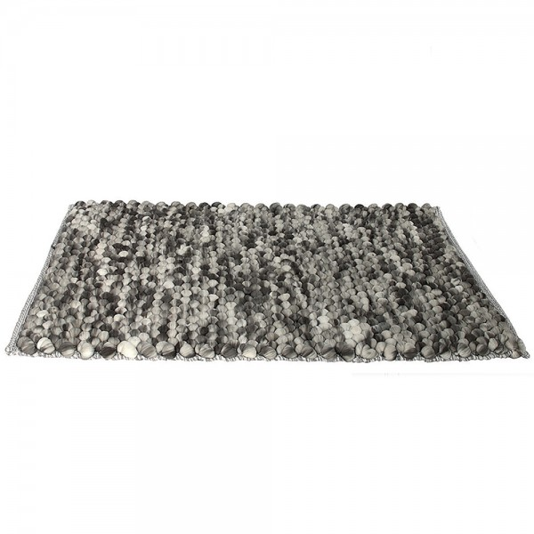 Hd Factory Grey Circles Mat 1 - 1Pc 532620-V001 by Home Deco Factory