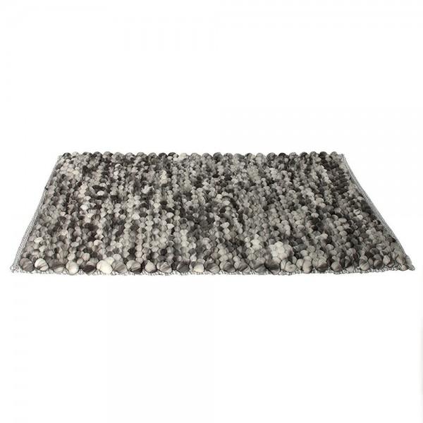 Hd Factory Grey Circles Mat 2 - 1Pc 532621-V001 by Home Deco Factory