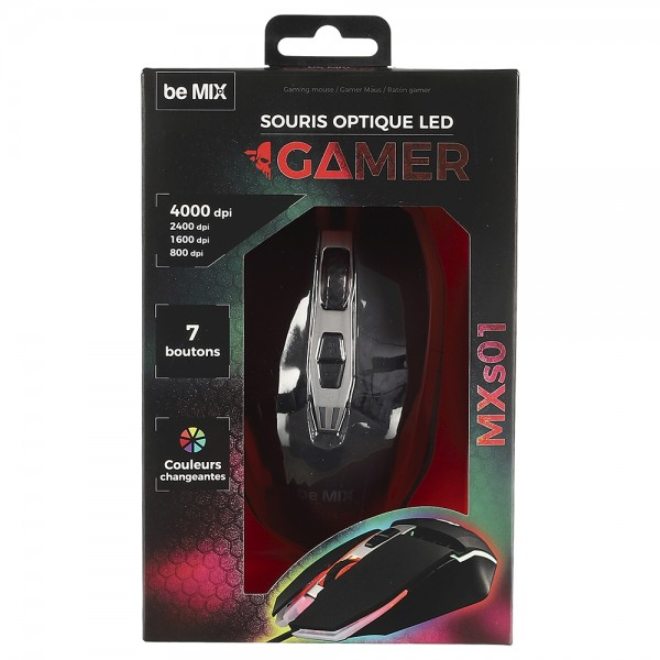 Corded Mouse Usb M12 532635-V001 by Be Mix