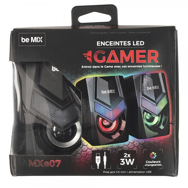 be MIX Corded Gaming Speaker M12 1 Piece 532636-V001 by Be Mix