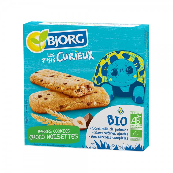 Bjorg Cookies Bio Chocolat Noisette 140G 532642-V001 by Bjorg