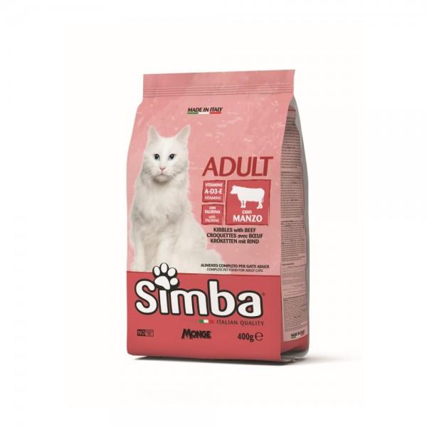 Simba Dry Cat Food Beef - 400G 532757-V001 by Simba