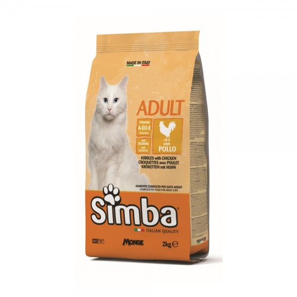 Simba Cat Dry Food Chicken - 2Kg 532760-V001 by Simba