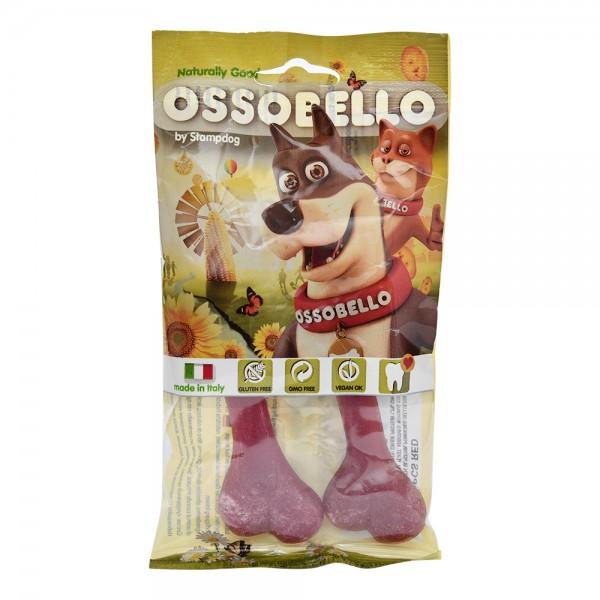 Ossobello Vegan Dog Bone S Red 532956-V001 by Ossobello