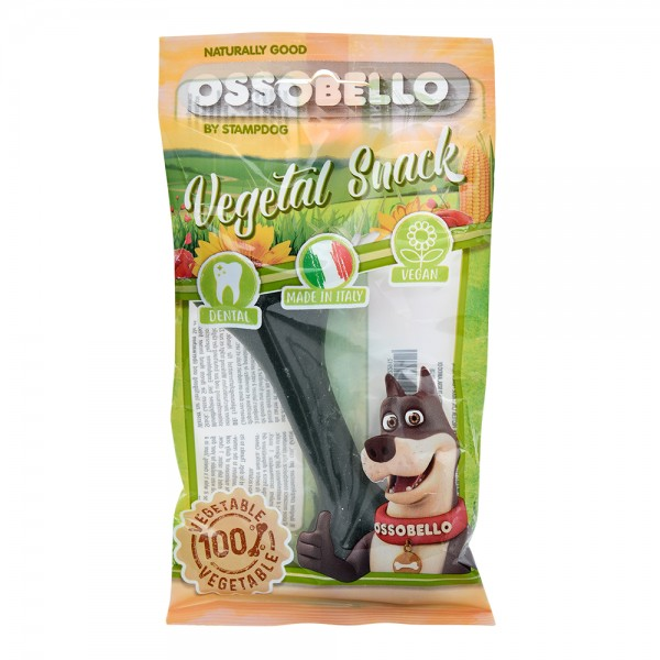 Ossobello Vegan Dog Bone M Green 532958-V001 by Ossobello