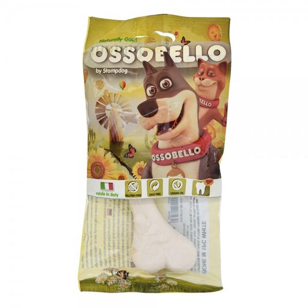 Ossobello Vegan Dog Bone M White 532959-V001 by Ossobello