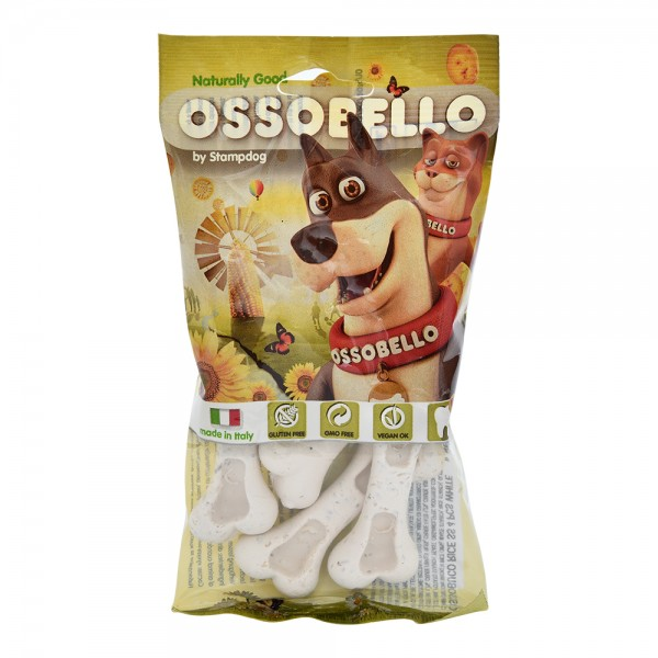 Ossobello Vegan Dog Ossobuco Rice Ss White 532965-V001 by Ossobello