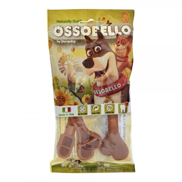 Ossobello Vegan Dog Toothbrush Brown 532970-V001 by Ossobello