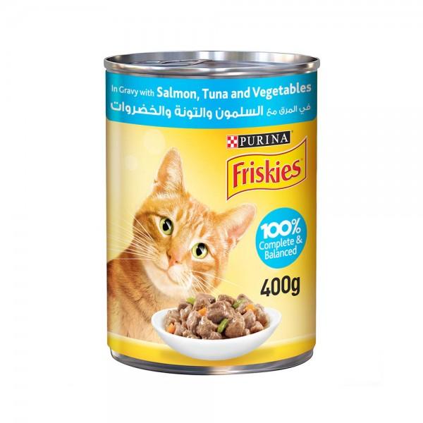 CAT FOOD SALMON AND TUNA VEG 533319-V001 by Purina