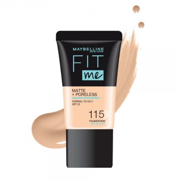 Maybelline Fit Me Foundation 115 - 1Pc 533419-V001 by Maybelline