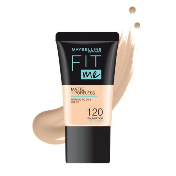 Maybelline Fit Me Foundation 120 - 1Pc 533420-V001 by Maybelline