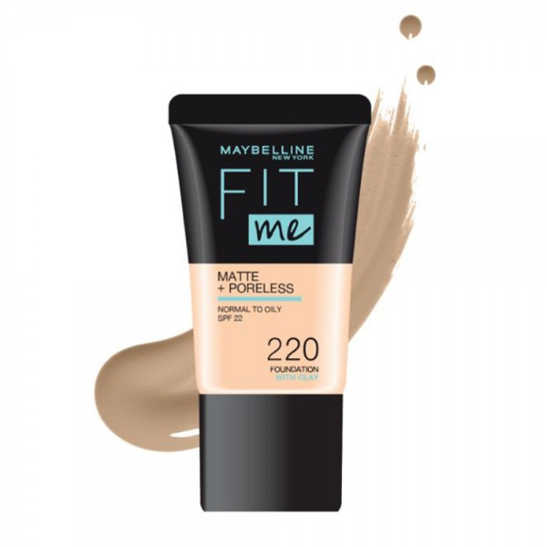 Maybelline Fit Me Foundation 220 - 1Pc 533421-V001 by Maybelline