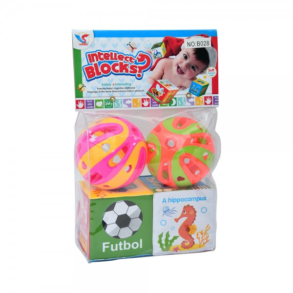 2 BLOCK+2 BALL 533704-V001 by Home Collection