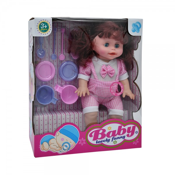 DOLL SET W.6SOUND 533820-V001 by Home Collection