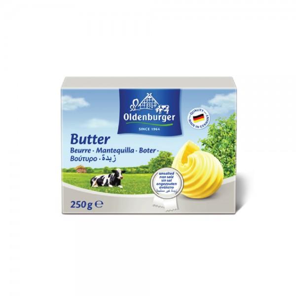 Oldenburger Butter Unsalted 250G 534119-V001 by Oldenburger