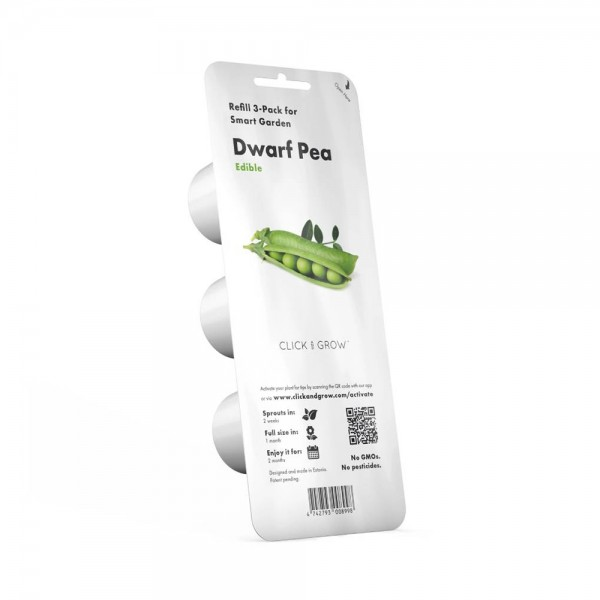 Dwarf Pea Plant Pods 534522-V001 by Click & Grow