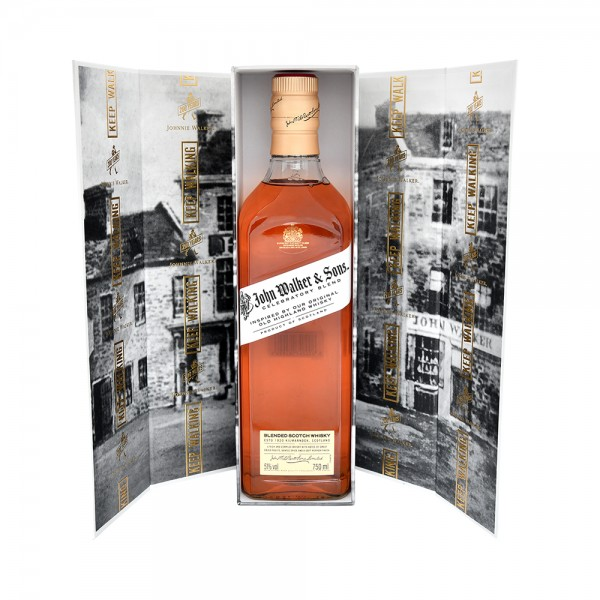 Blended Scotch Whisky Johnnie Walker Clebratory Blend 200th Anniversary 75CL 534609-V001 by Johnnie Walker