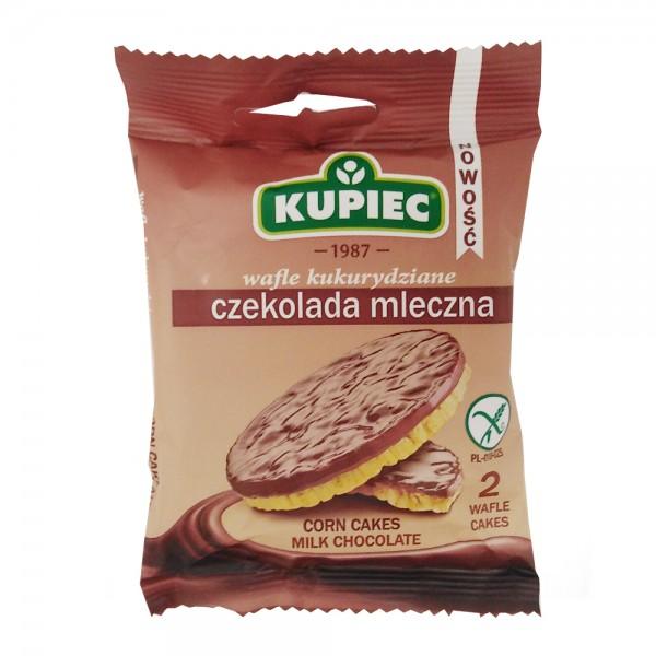 CORN CAKES MILK CHOCOLATE 534661-V001 by Kupiec