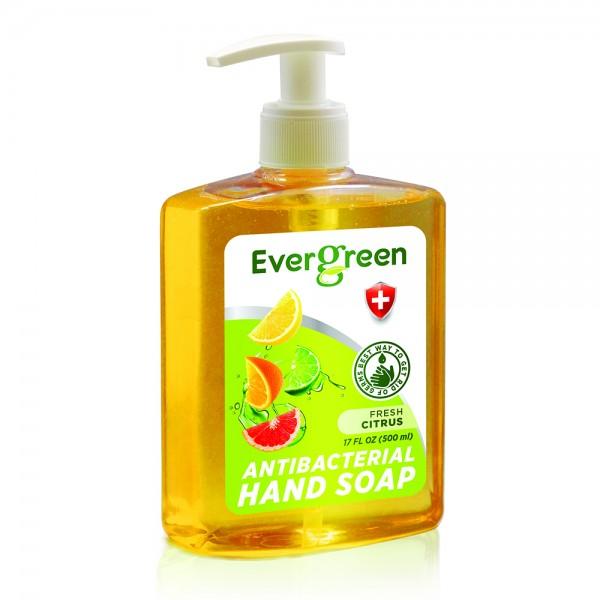 Evergreen Antibacterial Hand Soap Fresh Citrus 534731-V001 by Evergreen